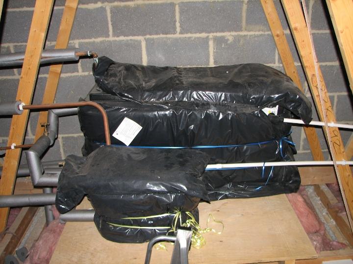 Example Loft Conversion Installing Velux Rooflights