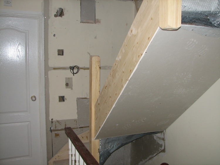 attic finishing ideas - Example Loft Conversion Staircase