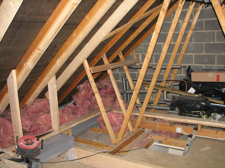 Example Loft Conversion Structural Timber Work
